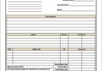 tax invoice template