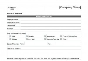 Pto Request Form Free Word Templates
