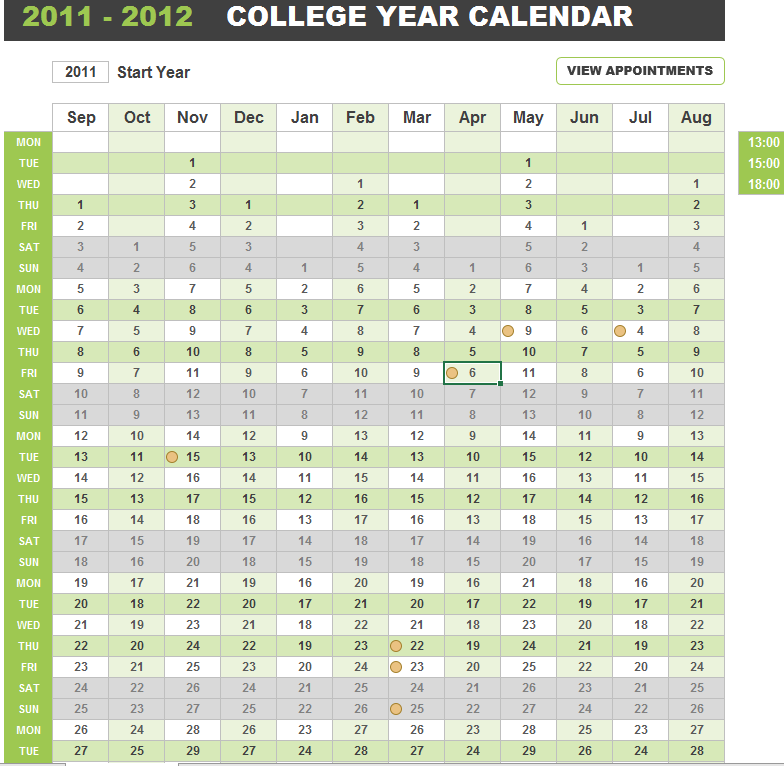 College Course Planner