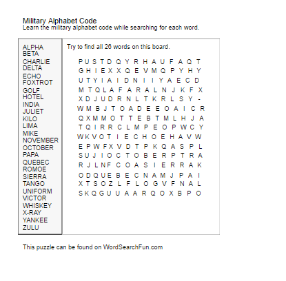 military letter codes alphabet pdf free word templates 10164
