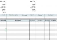 VAT Invoice Template
